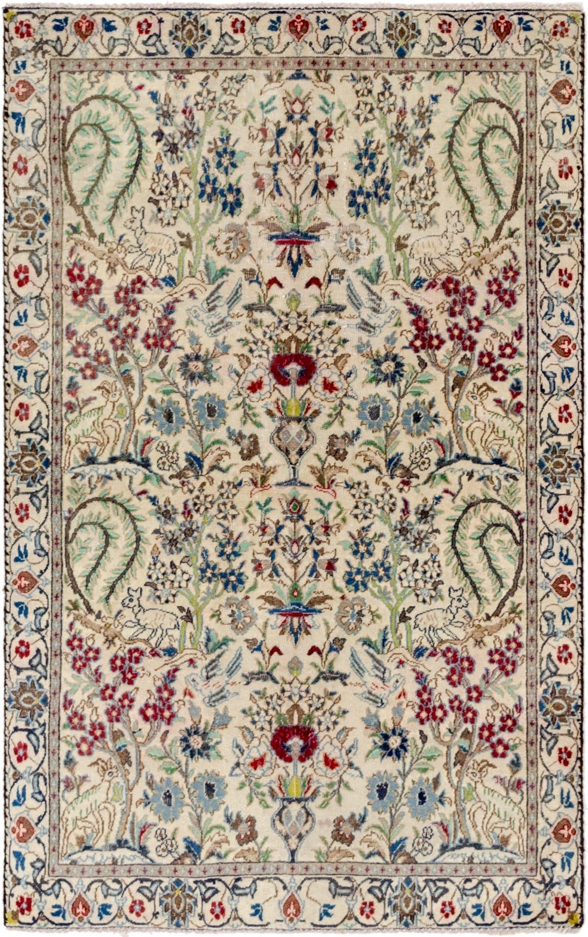 3' 9 x 6' Nain Persian Rug main image