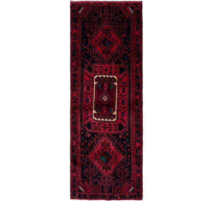 122cm x 365cm Zanjan Persian Runner Rug