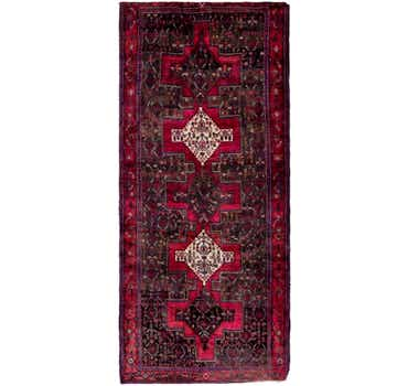 Image of 4' x 9' 10 Sanandaj Persian Runner...