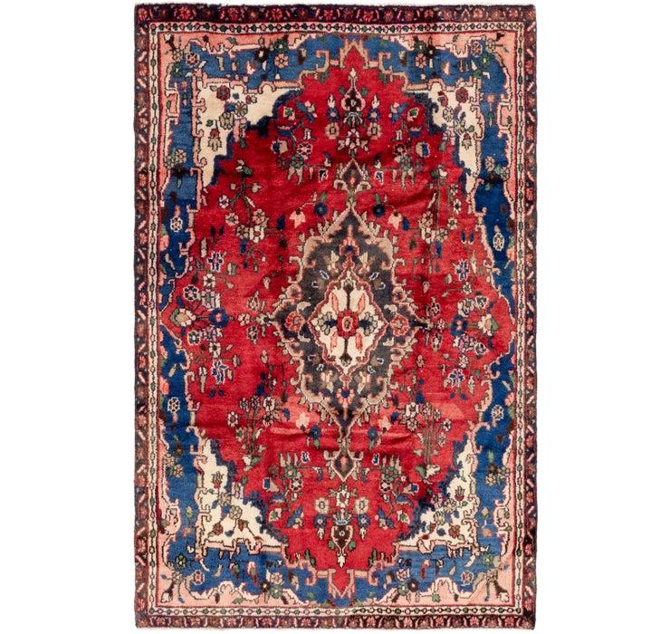 5' 3 x 8' 5 Hamedan Persian Rug