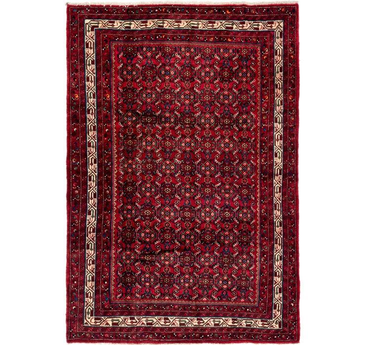 6' 9 x 9' 9 Hossainabad Persian Rug