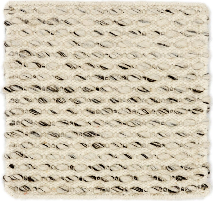 1' 7 x 1' 7 Hand Braided Square Rug