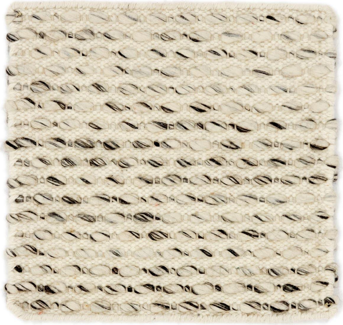 1' 7 x 1' 7 Hand Braided Square Rug main image