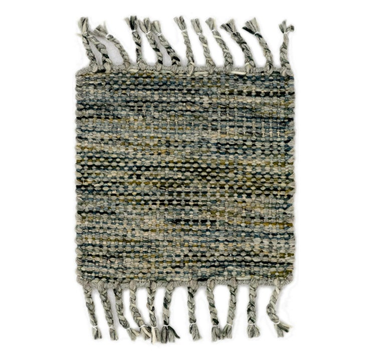 48cm x 48cm Hand Braided Square Rug
