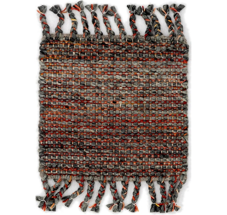 Image of 45cm x 48cm Hand Braided Square Rug