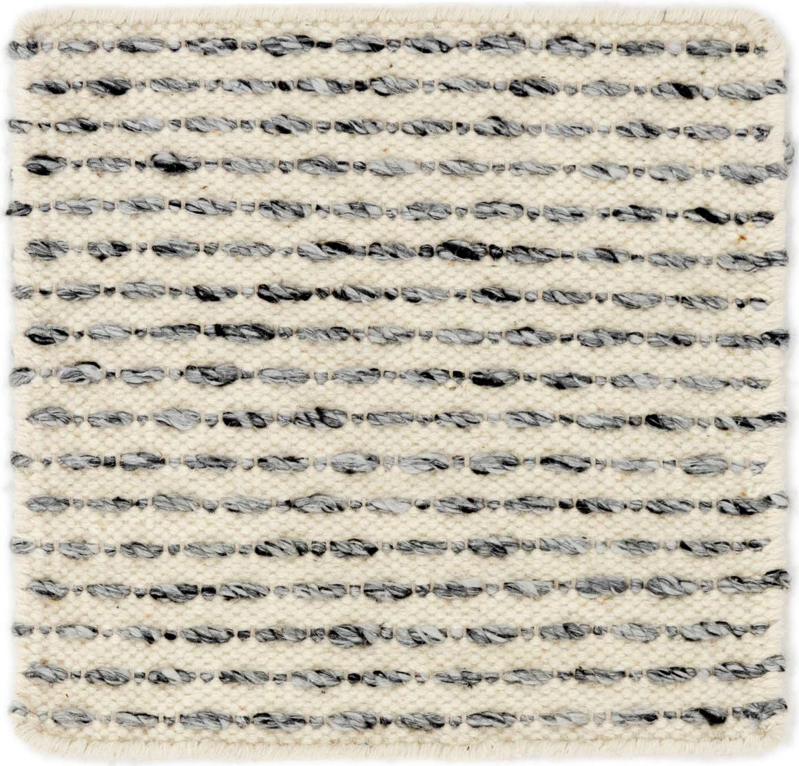 1' 6 x 1' 7 Hand Braided Square Rug main image