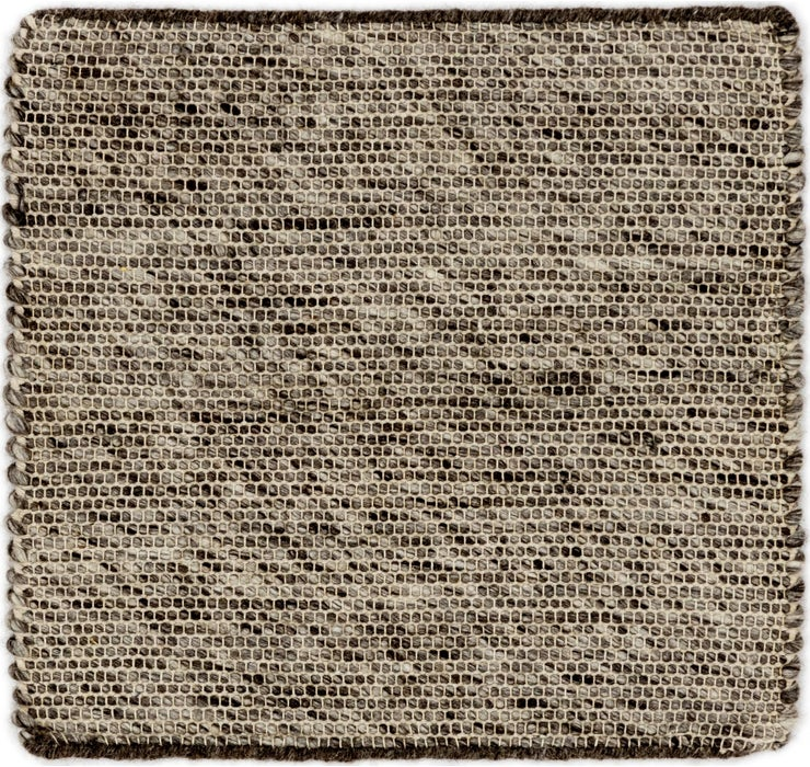 50cm x 53cm Hand Braided Square Rug