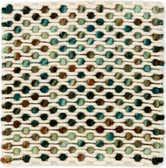 1' 5 x 1' 5 Hand Braided Square Rug thumbnail