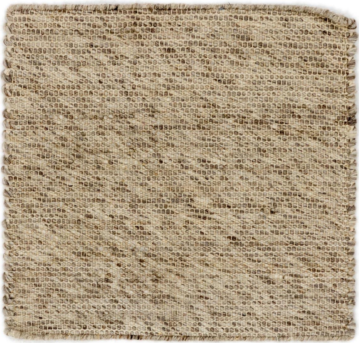 1' 8 x 1' 9 Hand Braided Square Rug main image
