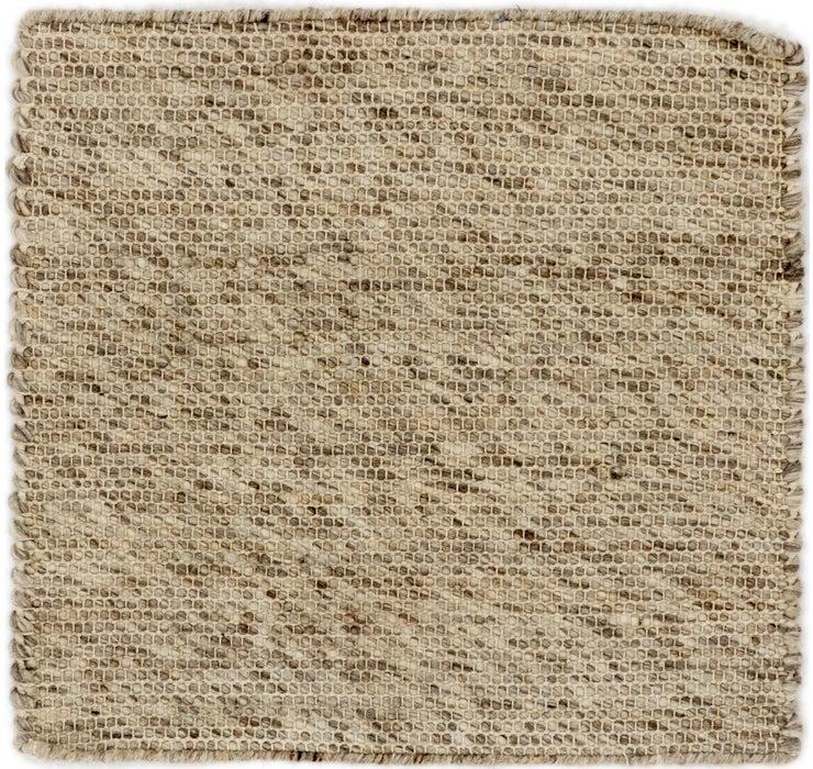 Image of 50cm x 53cm Hand Braided Square Rug