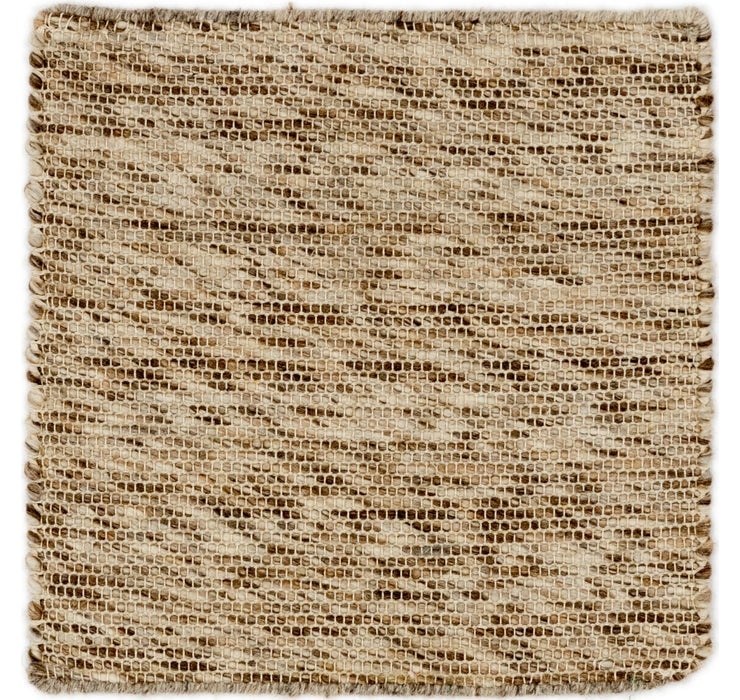 50cm x 50cm Hand Braided Square Rug