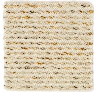 1' 8 x 1' 8 Hand Braided Square Rug main image
