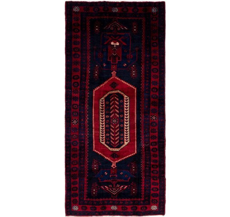 140cm x 305cm Sirjan Persian Runner Rug