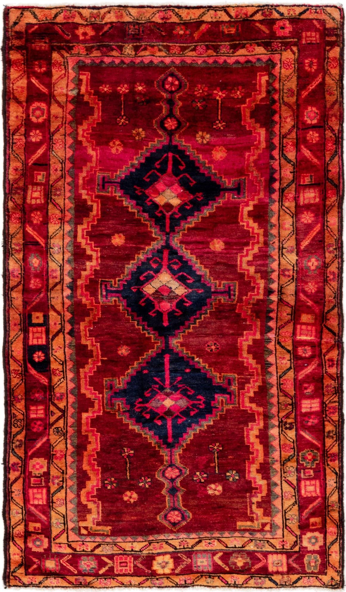 4' 3 x 7' Shiraz Persian Rug main image