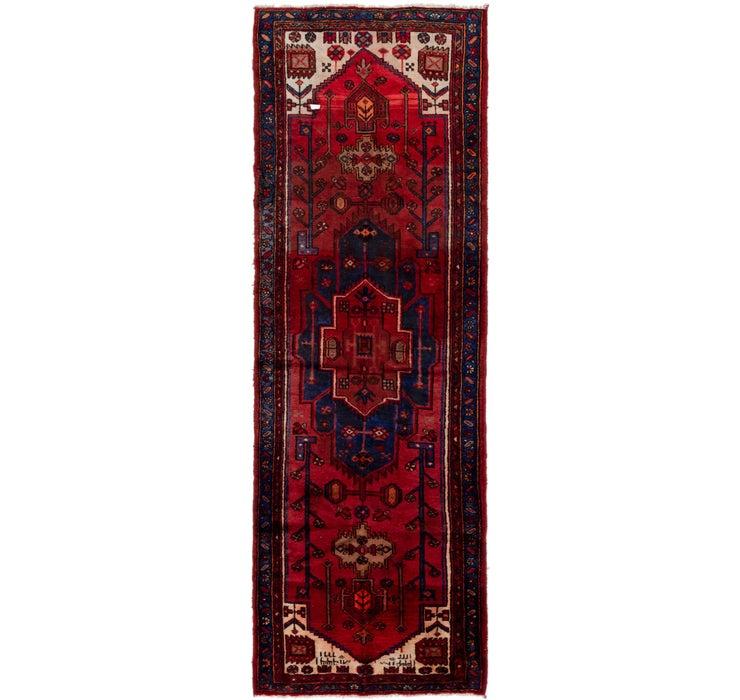 110cm x 315cm Khamseh Persian Runner ...