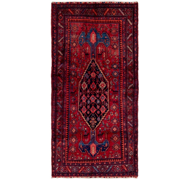 4' x 8' 5 Gholtogh Persian Runner...