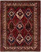 5' x 6' 6 Bakhtiari Square Rug thumbnail