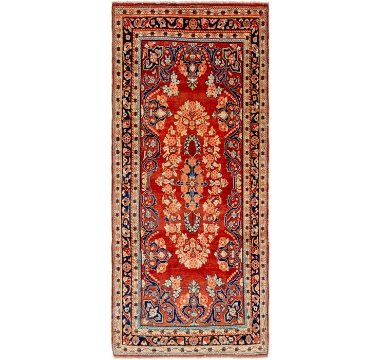 4' 5 x 10' 2 Mahal Persian Runner Rug