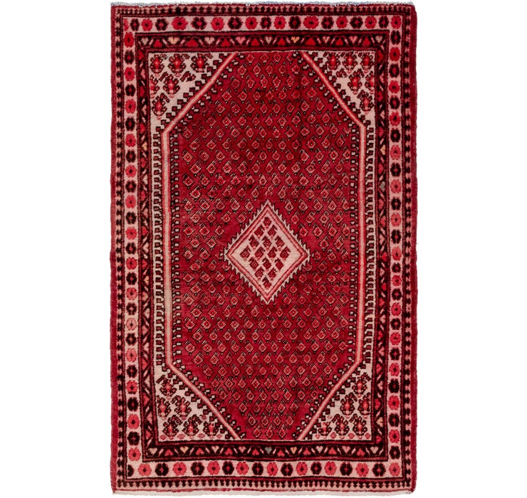 4' 3 x 7' Farahan Persian Rug