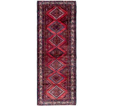 Image of 3' 9 x 10' 10 Chenar Persian Runner Rug