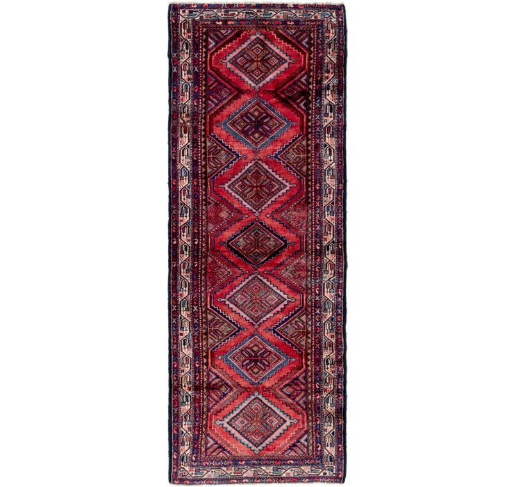 Image of 115cm x 330cm Chenar Persian Runner Rug