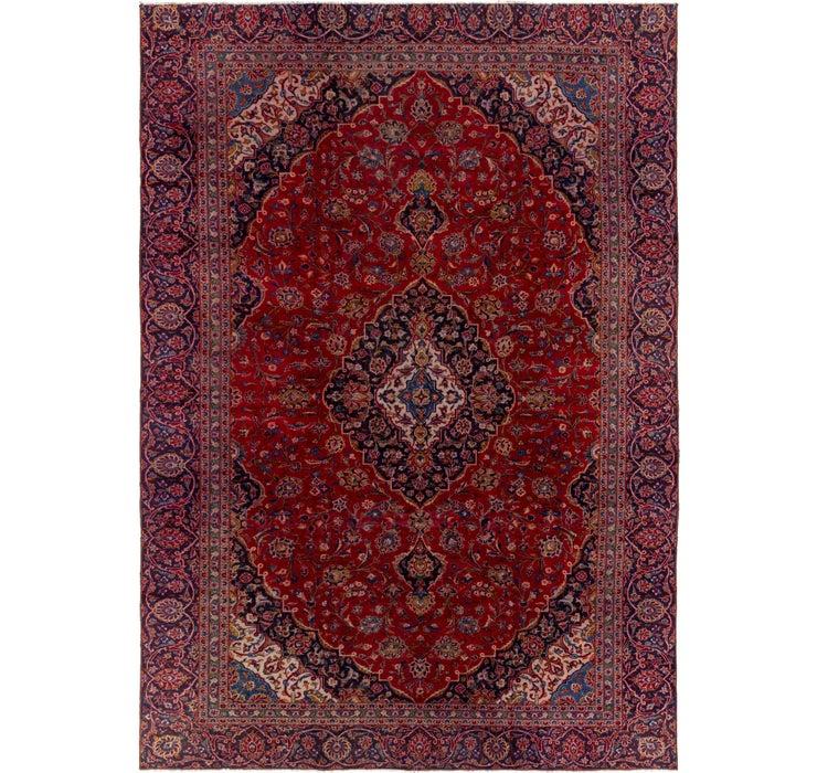 9' 2 x 13' 6 Mashad Persian Rug