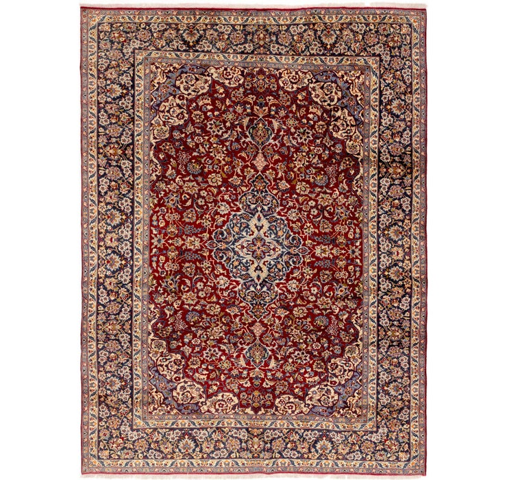 290cm x 390cm Isfahan Persian Rug