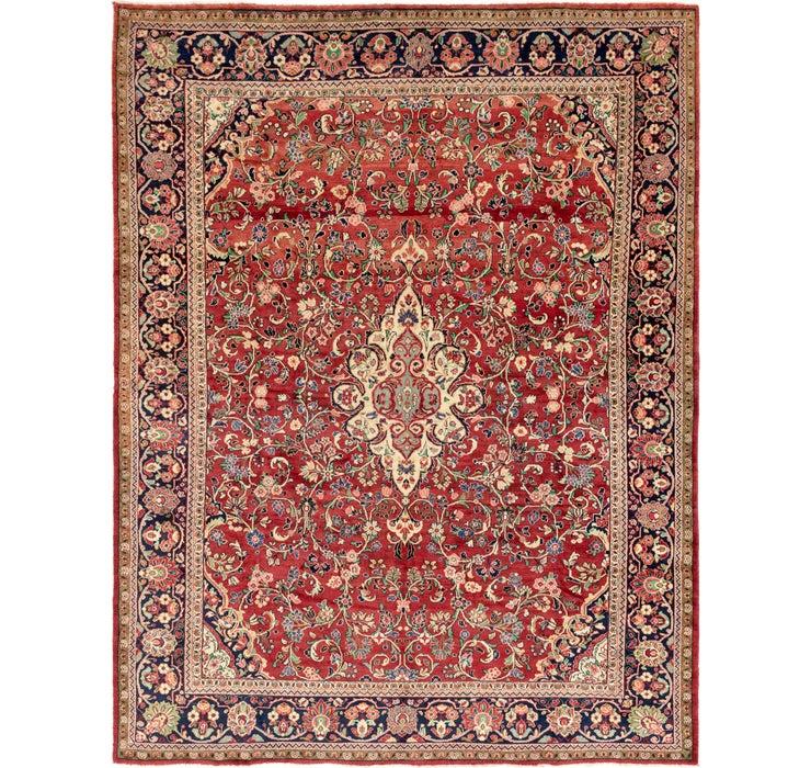 343cm x 427cm Meshkabad Persian Rug