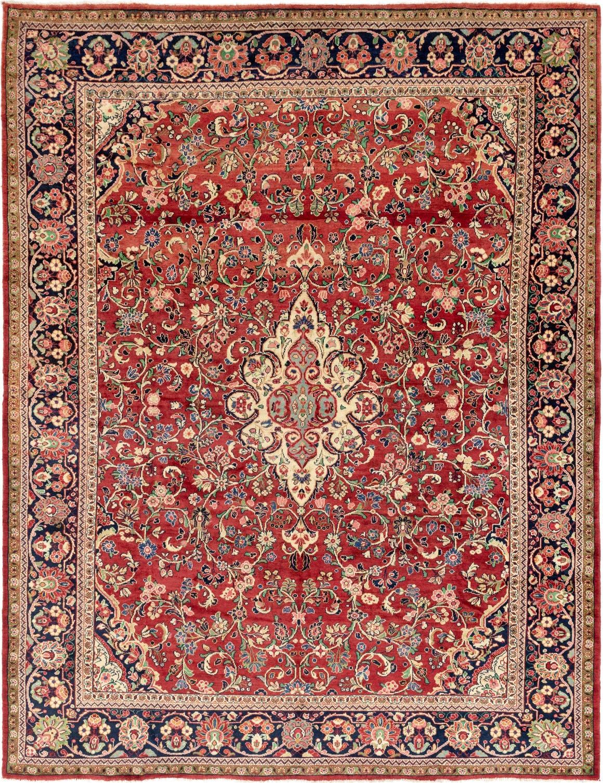 11' 3 x 14' Meshkabad Persian Rug main image