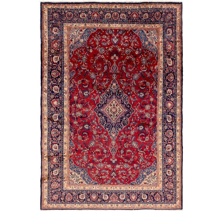 10' x 14' 8 Shahrbaft Persian Rug