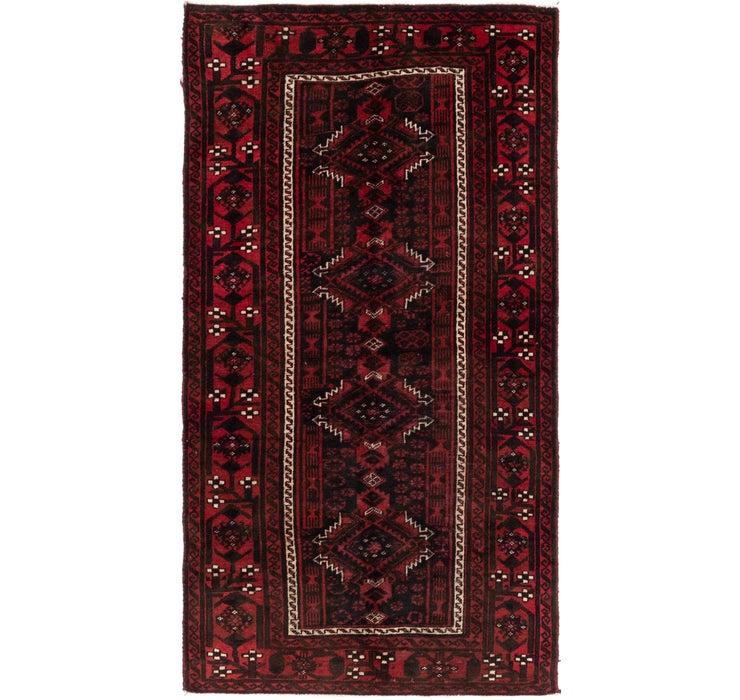107cm x 200cm Balouch Persian Rug