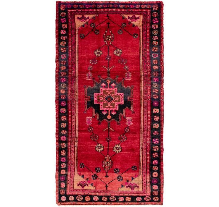 145cm x 290cm Shiraz Persian Runner Rug