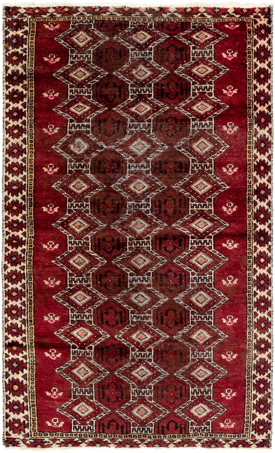 3' 7 x 6' 2 Balouch Persian Rug main image