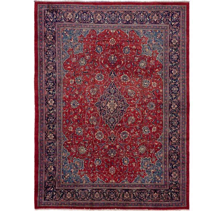 10' 6 x 13' 10 Mahal Persian Rug
