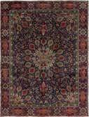 9' 5 x 12' 7 Tabriz Persian Rug thumbnail