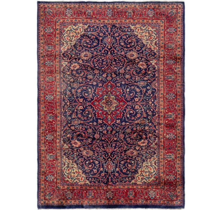7' x 10' Sarough Persian Rug