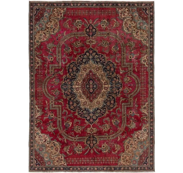 8' x 10' 9 Tabriz Persian Rug