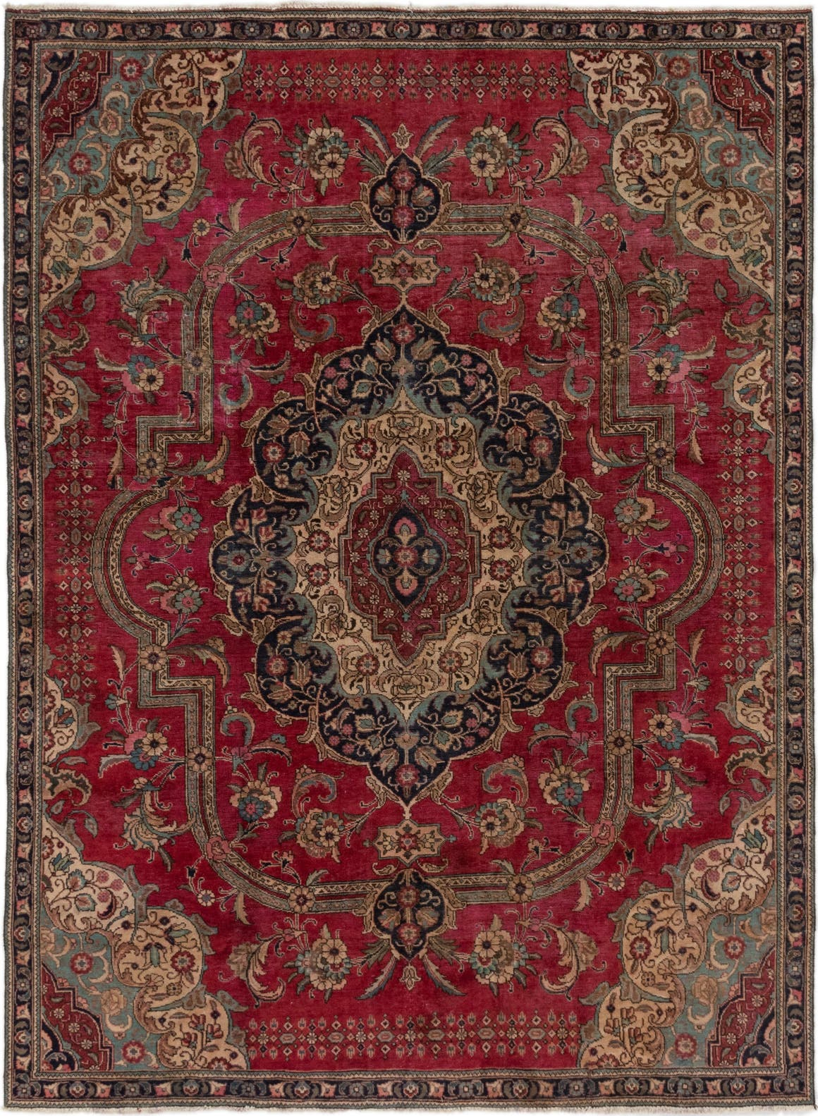 8' x 10' 9 Tabriz Persian Rug main image