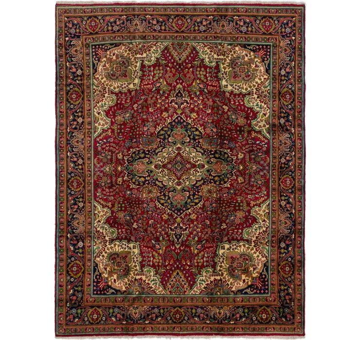 9' 8 x 13' Tabriz Persian Rug