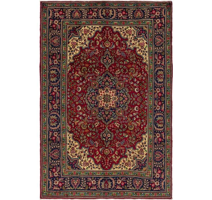 208cm x 315cm Tabriz Persian Rug