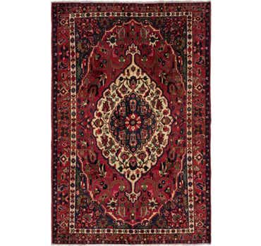 Image of 6' 6 x 10' 3 Bakhtiar Persian Rug