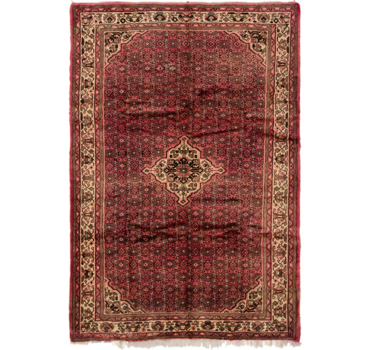 205cm x 310cm Hossainabad Persian Rug