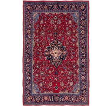 7' 3 x 11' Sarough Persian Rug main image