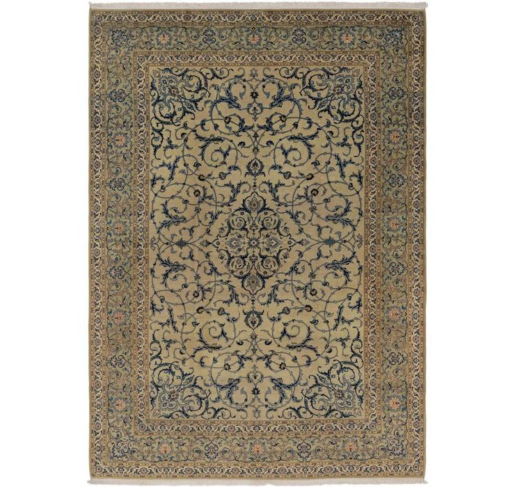 285cm x 417cm Kashan Persian Rug