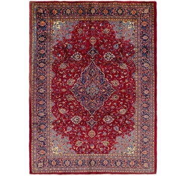 Image of 6' 9 x 10' Golpayegan Persian Rug