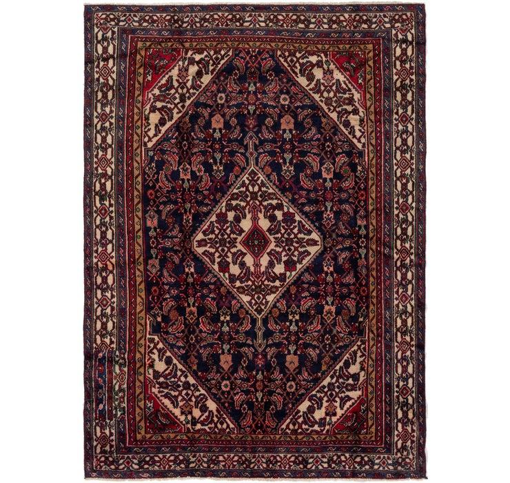 218cm x 305cm Hamedan Persian Rug