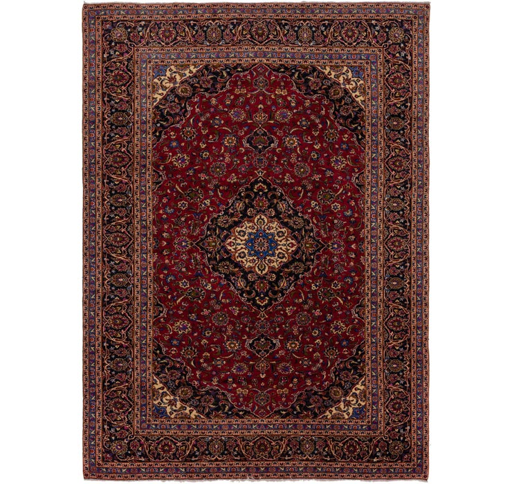9' 4 x 13' 2 Kashan Persian Rug