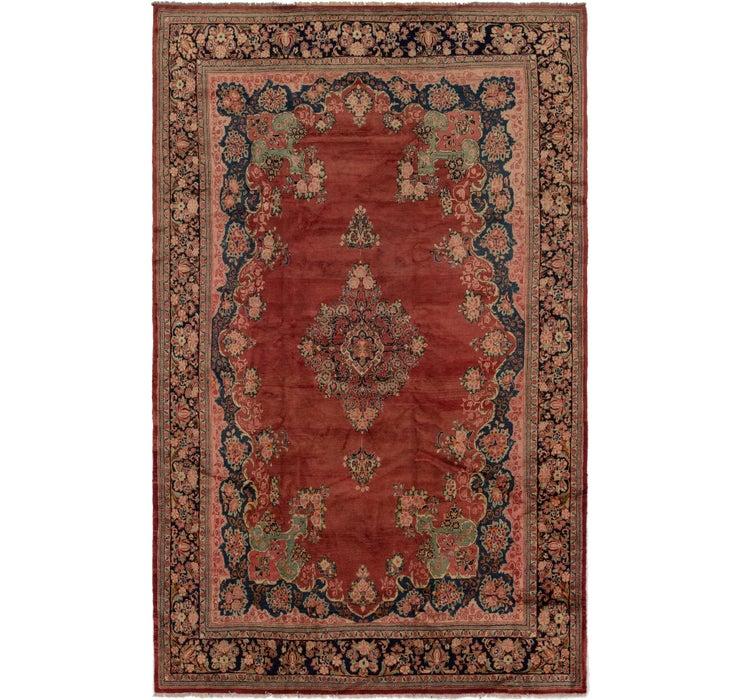 10' 9 x 17' 7 Meshkabad Persian Rug
