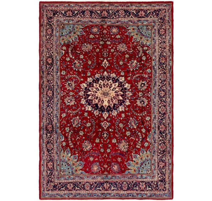 7' x 10' 5 Mahal Persian Rug