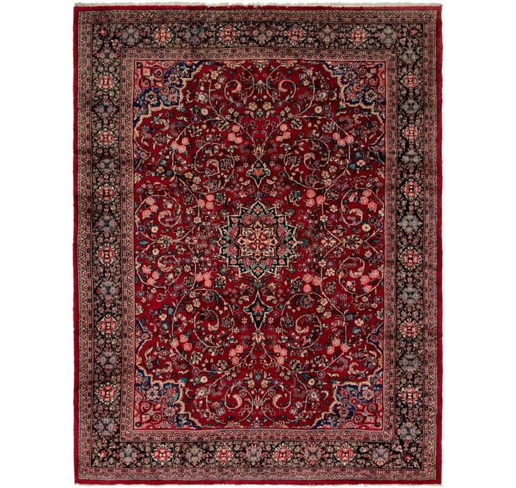 325cm x 417cm Meshkabad Persian Rug